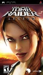 Le jeu Tomb Raider Legend sur PlayStation Portable