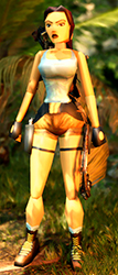 Apparence Tomb Raider 2